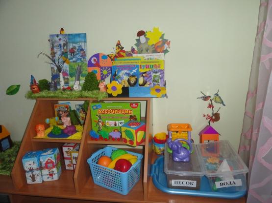 Оформление уголков в детском саду в младшей группе